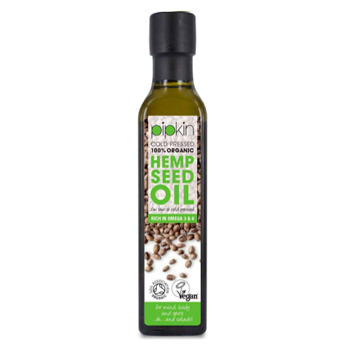 aceite de cañamo para acne prensado en frio comestible natural