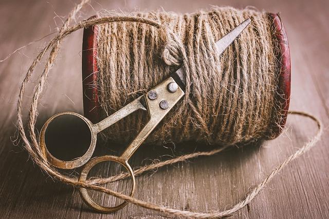 Hilo de Cáñamo textil