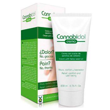 Crema de cannabis ingredientes Cannabidol