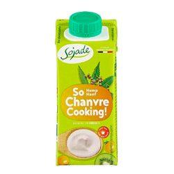 Crema de leche cannabica Sojade 200 ml
