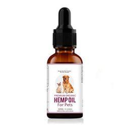 Aceite de cañamo para perros orgánico