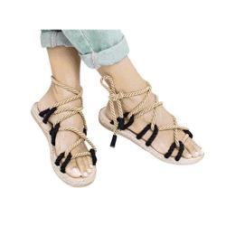 Sandalias de cañamo mujer cuerda de cañamo