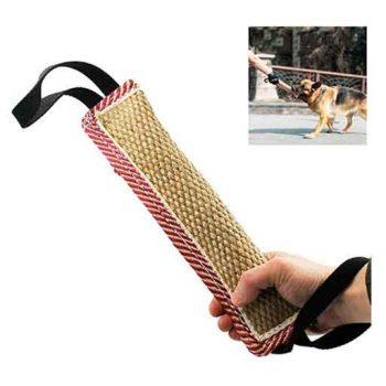 Almohada de cañamo mordedura para perros maxima resistencia