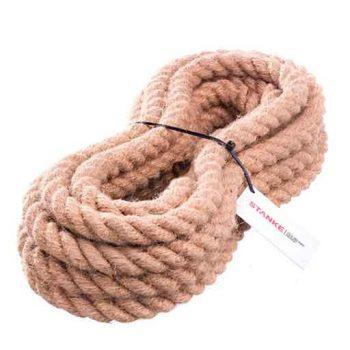 Cuerda cañamo 10mm con yute 50m calidad premium